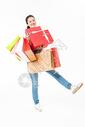 青春大学生购物抱礼盒501037413图片