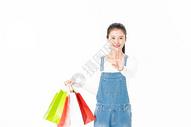 年轻女生智能购物501037456图片