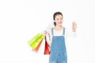 年轻女生智能购物501037466图片