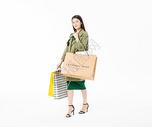 时尚美女购物501037526图片