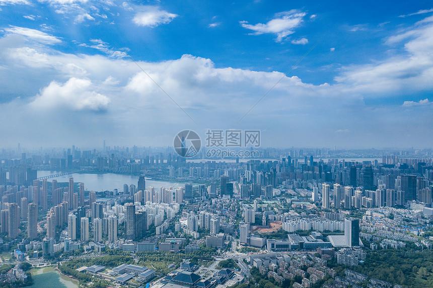 俯瞰武汉图片