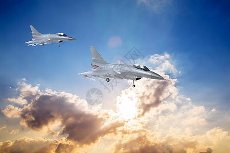 空中战斗机图片