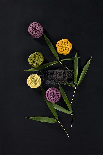 花式月饼糕点图片