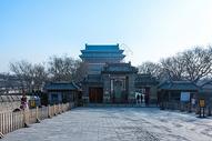 北京鼓楼望钟楼图片