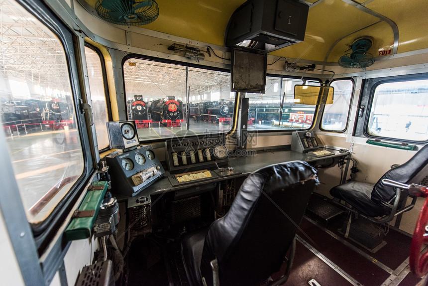 中国铁道博物馆机车车长室图片