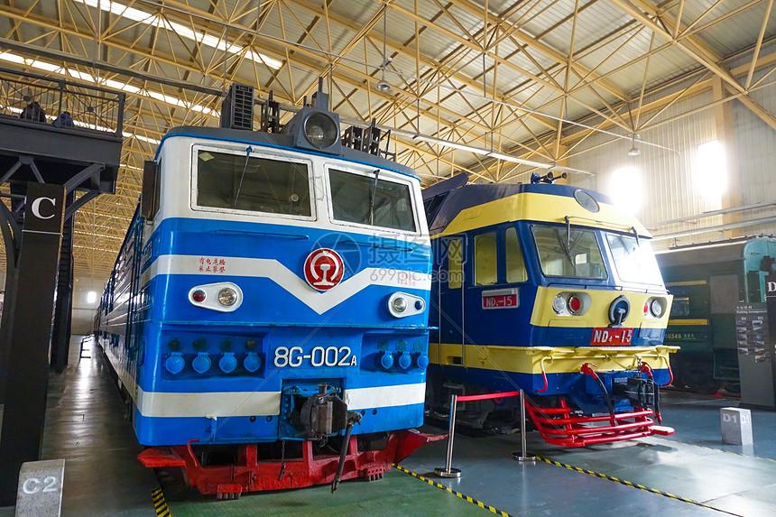 中国铁道博物馆火车头图片