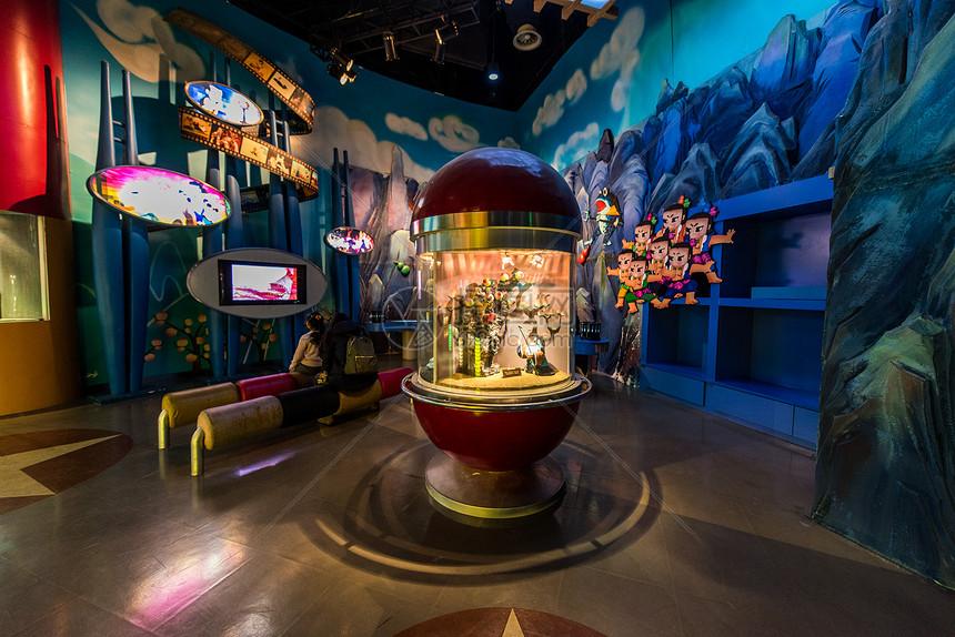 中国电影博物馆动画片展厅图片
