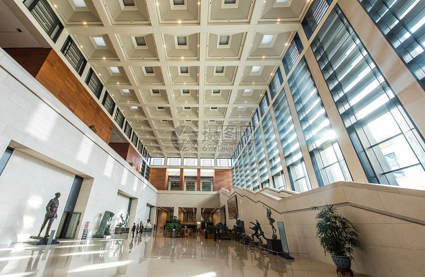 中国国家博物馆大厅图片