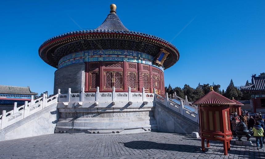 北京天坛皇穹宇图片