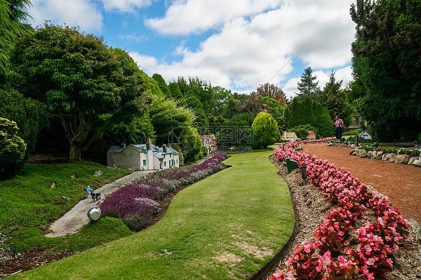 澳大利亚堪培拉的微缩公园图片