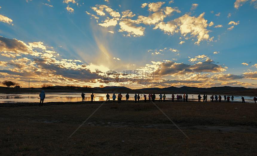 内蒙古坝上野鸭湖图片