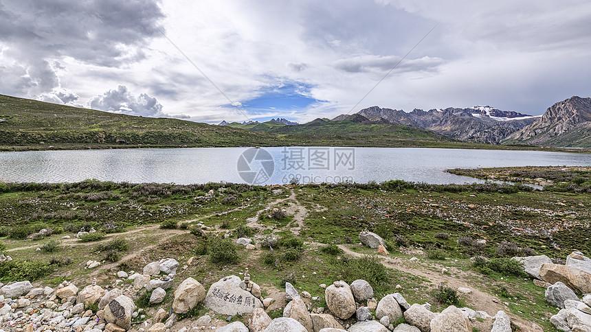 川藏线318国道风光姊妹湖图片