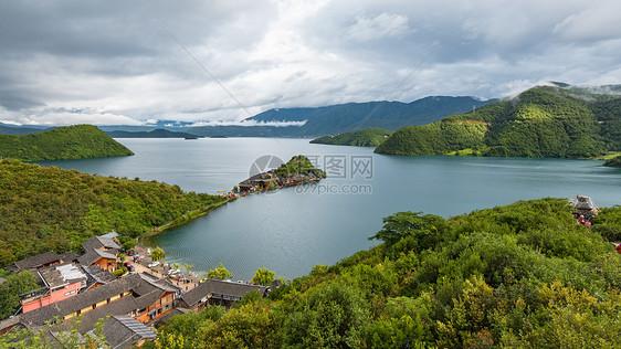 云南丽江市彝族自治县宁蒗泸沽湖里格岛图片