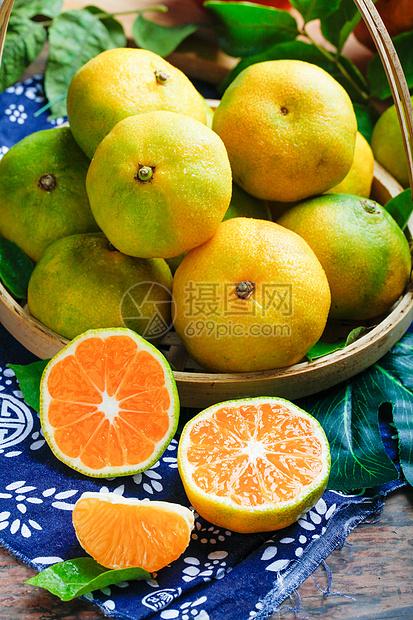 香甜橘子图片