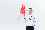 男导游领队形象图片