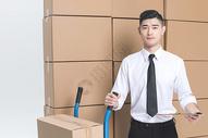 仓储货运男性工作形象图片