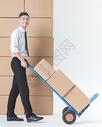 仓储货运男性推推车501040231图片