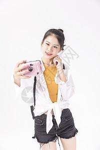 年轻女性自拍图片