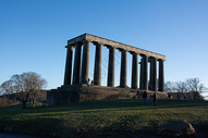 卡尔顿山上的爱丁堡国立天文台图片