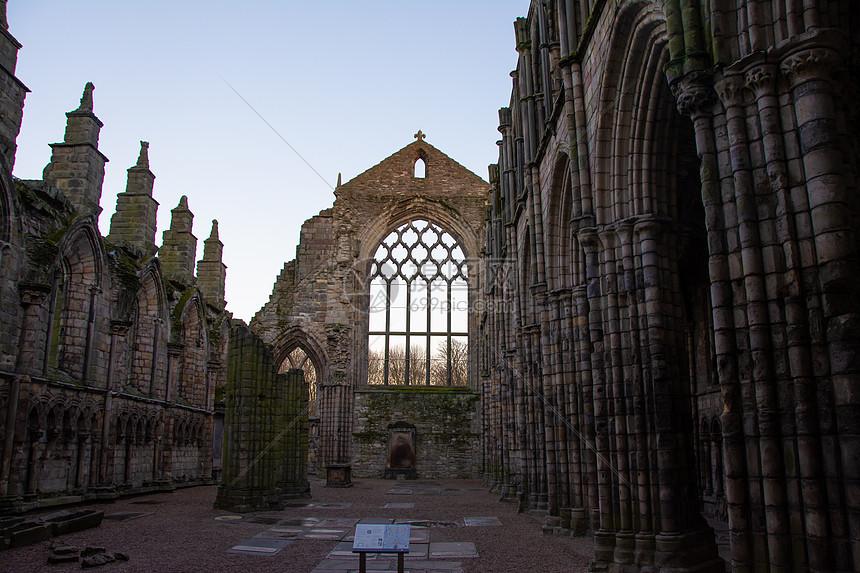 英国苏格兰爱丁堡荷里路德宫图片
