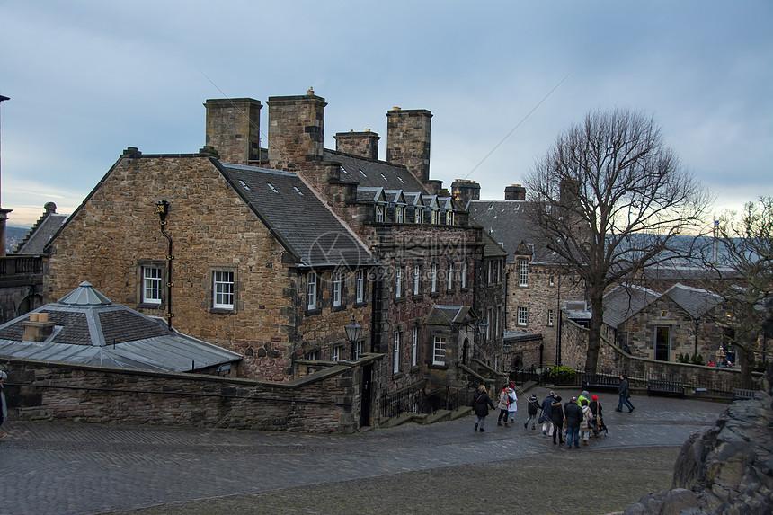苏格兰爱丁堡王子街花园图片