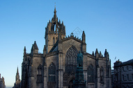 苏格兰爱丁堡圣吉尔斯大教堂图片