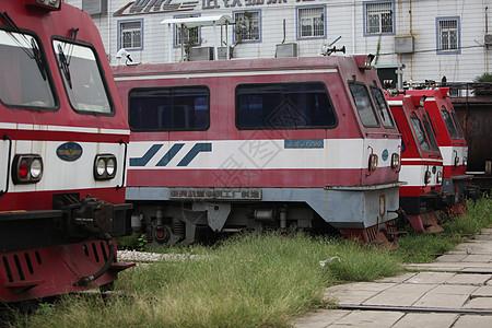 老式的火车机车图片