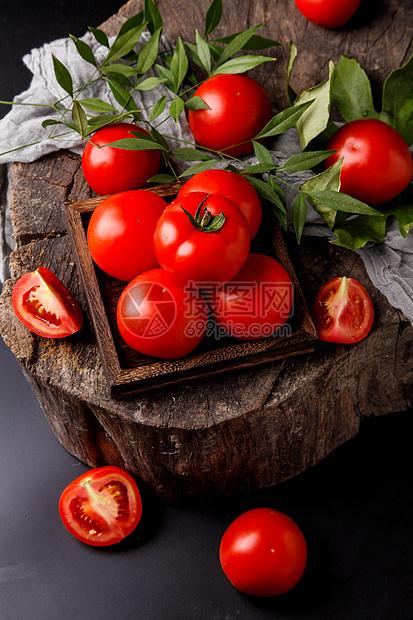 新疆番茄图片