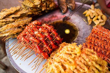 大理油炸虾图片