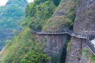 江西赣州南武当山登山步道图片