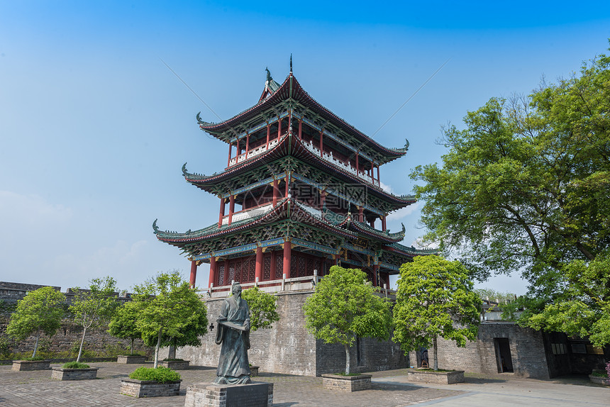 江西赣州古城楼图片