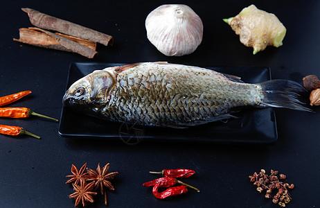 鱼类烹饪食材图片
