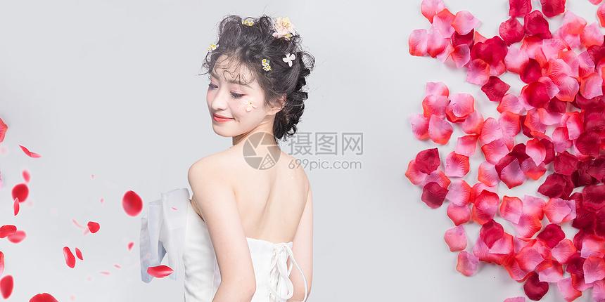 美丽新娘图片