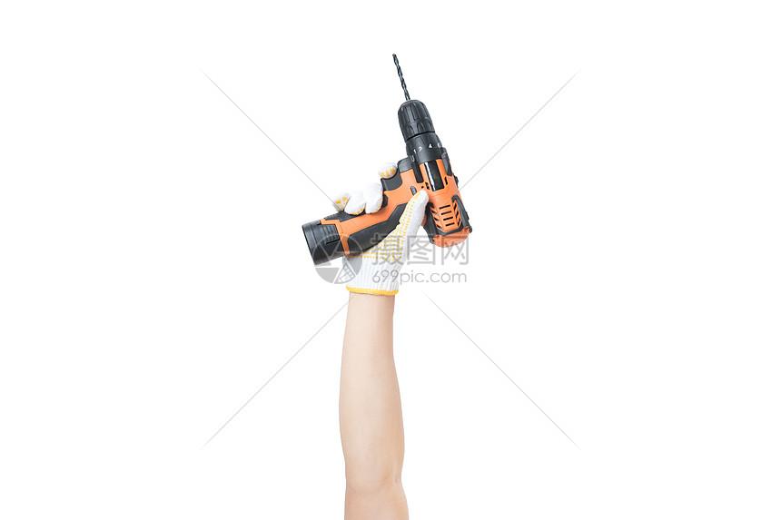 施工电钻图片
