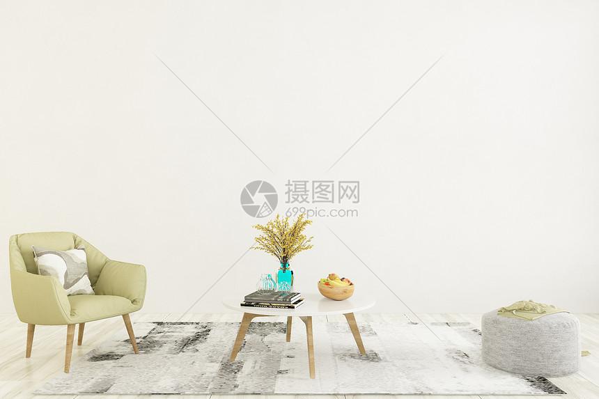 室内桌椅组合图片