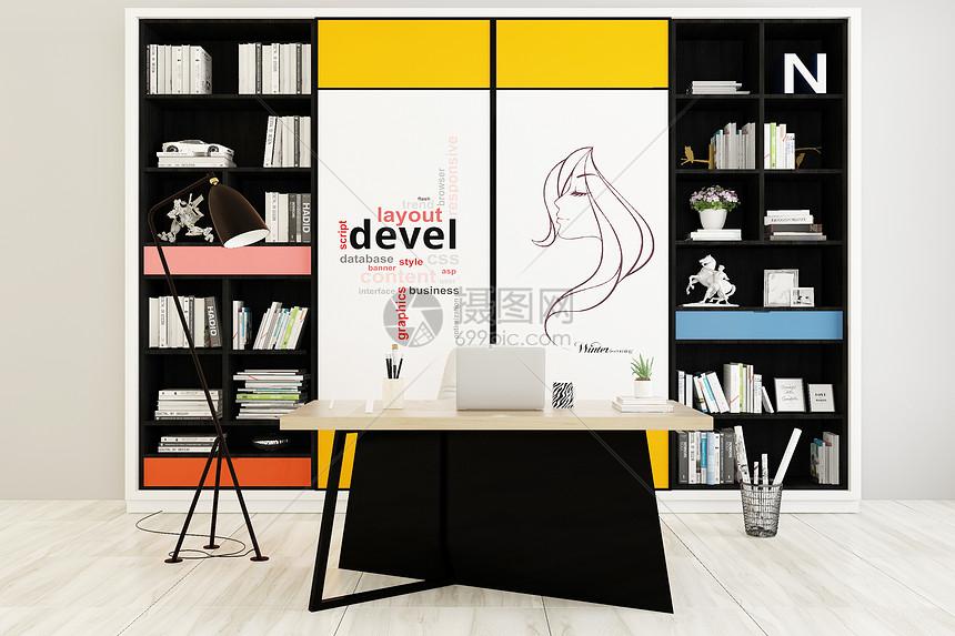 书房设计图片