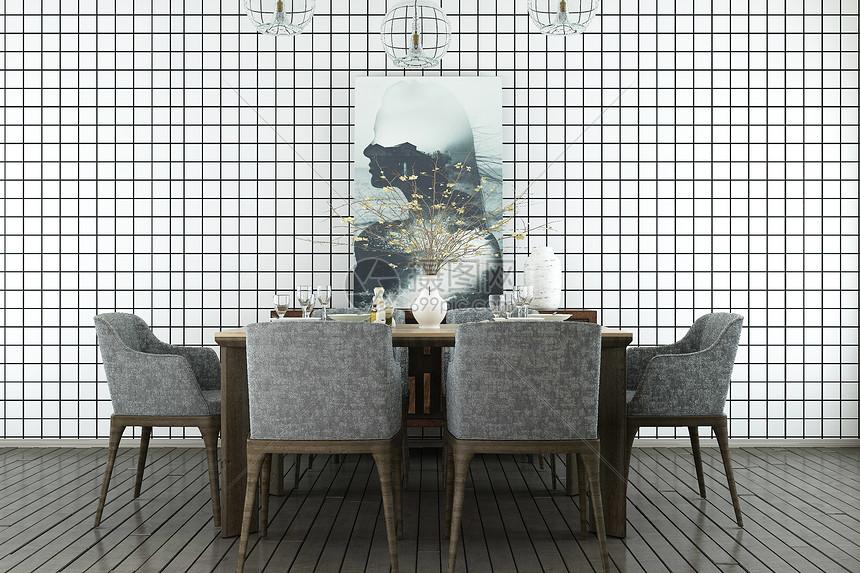 现代餐厅家居图片