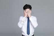 压力大绝望的职场小白图片