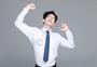 压力疲惫不堪的职场男性图片