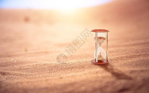 沙漏场景图片