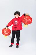 新年喜庆儿童人像图片