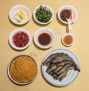 油爆虾食材图片