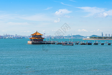 青岛栈桥风光图片