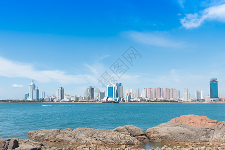 海滨城市风光图片