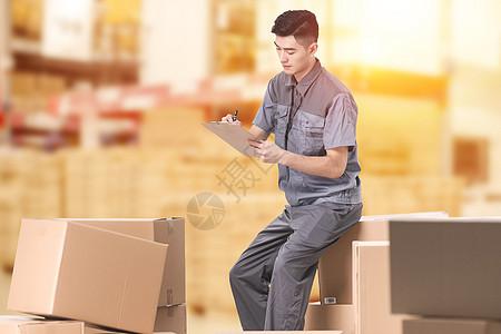 仓储工人图片