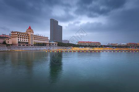 海滨城市威海图片