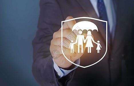 保险家庭图片