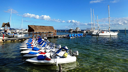 墨西哥尤卡坦半岛坎昆度假海滨图片