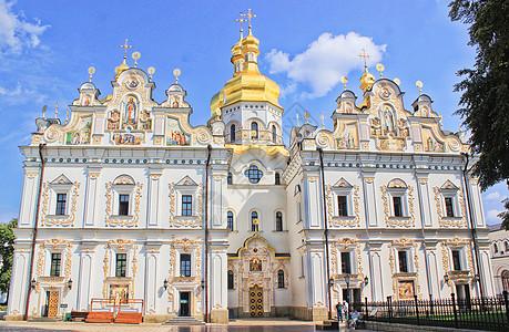 乌克兰基辅洞窟修道院图片