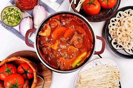 番茄牛腩汤图片